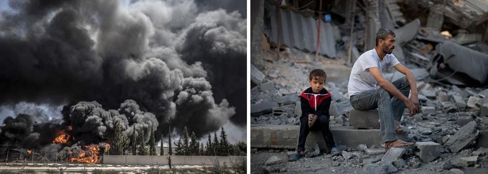 massacre na faixa de gaza