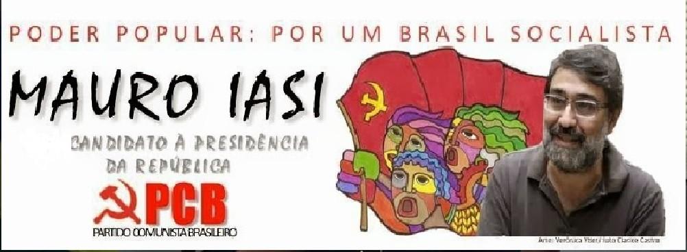 mauro iasi, candidato a presidente da republica pelo partido comunista brasileiro