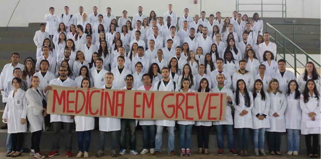medicina unemat em greve geral