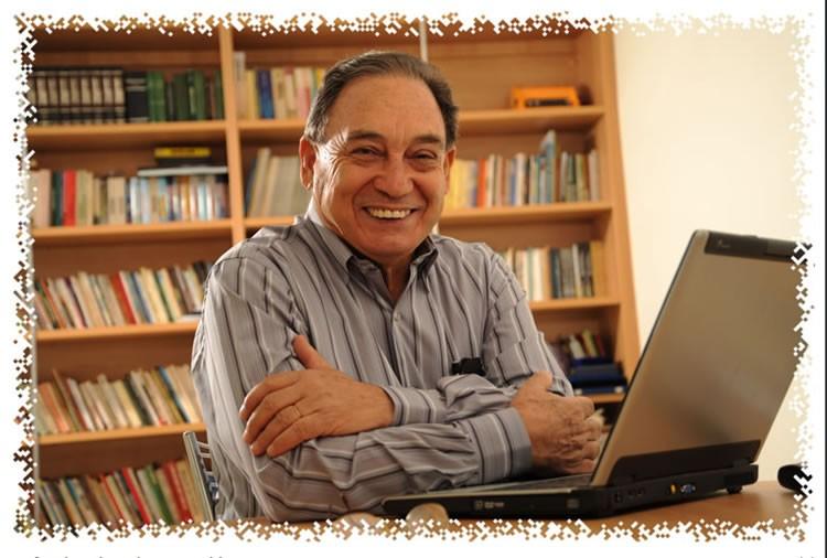 Onofre Ribeiro, jornalista e analista político da Rádio Mix FM, de Cuiabá.