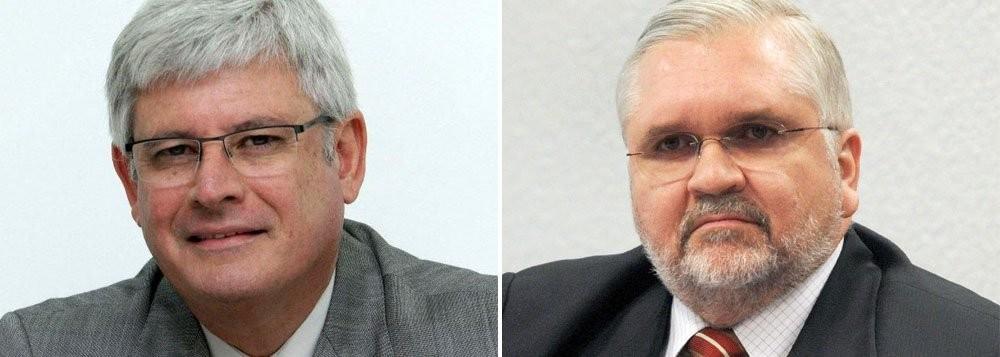 Rodrigo Janot e Roberto Gurgel