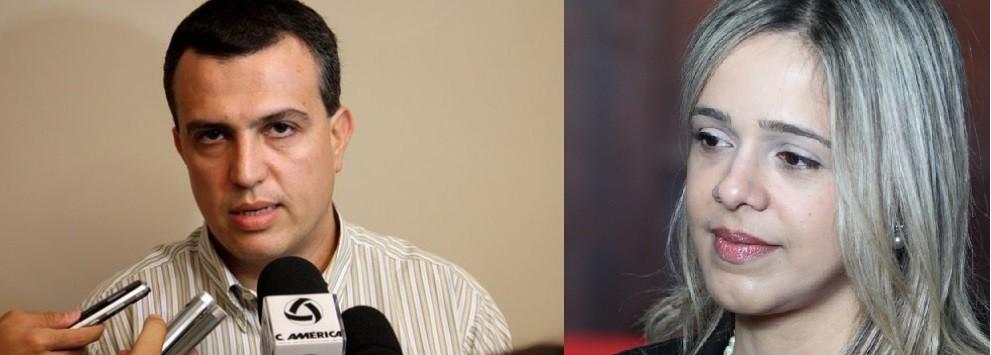 Marcos Machado, desembargador e Amini Haddad, juíza de Direito em Mato Grosso