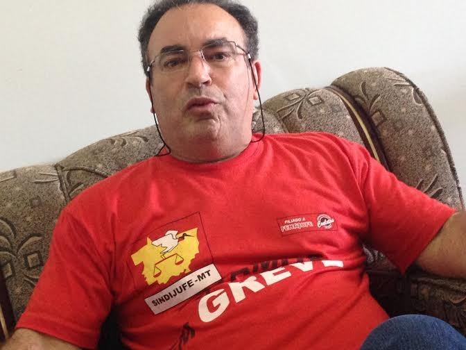 Pedro Aparecido avalia que a atual conjuntura não é favorável para os trabalhadores e suas lutas, em Mato Grosso e no Brasil