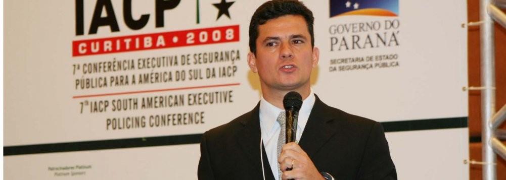 Sérgio Fernando Moro, juiz federal, titular da 13ª Vara Federal de Curitiba, no Paraná