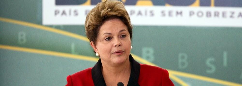 Dilma Roussef, presidente do Brasil, reeleita em 26 de outubro para novo mandato de 4 anos