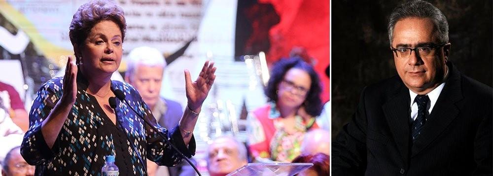 Dilma Roussef, presidente da República reeleita em 26 de outubro de 2014 e Luis Nassif, jornalista que vê na campanha pelo impeachment já desencadeada pelos políticos do PSDB, com apoio da mídia e da extrema direita, como o ovo da serpente que pode gerar o golpe contra o novo governo a se instalar a partir de 1º de janeiro de 2015
