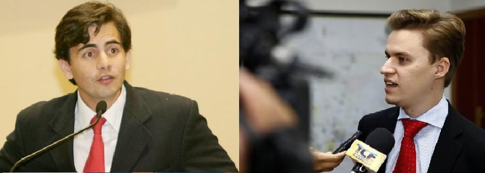 Fábio Garcia, deputado federal eleito pelo PSB e o procurador eleitoral Douglas Guilherme Fernandes