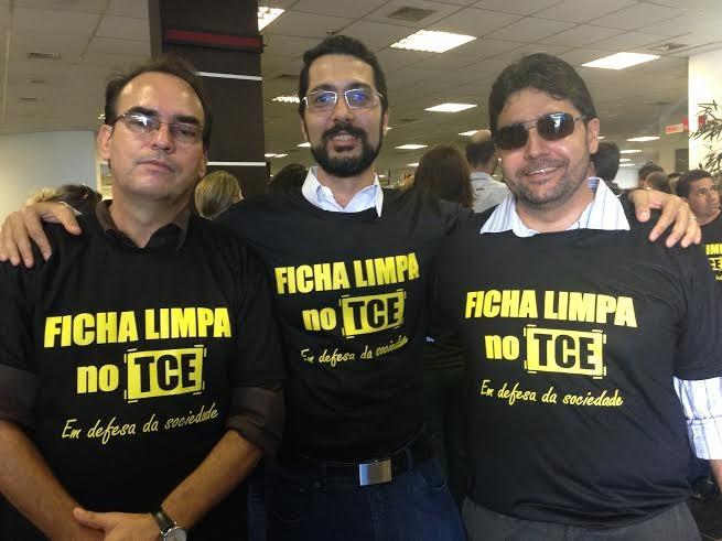 O MCCE e a Ong Moral fortaleceram a manifestação dos servidores do Tribunal de Contas