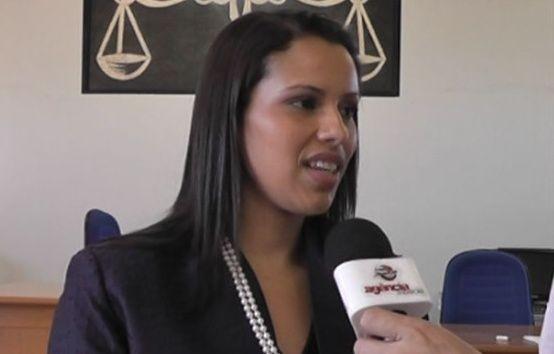 Luciene Marciano, juíza de Porto Alegre do Norte