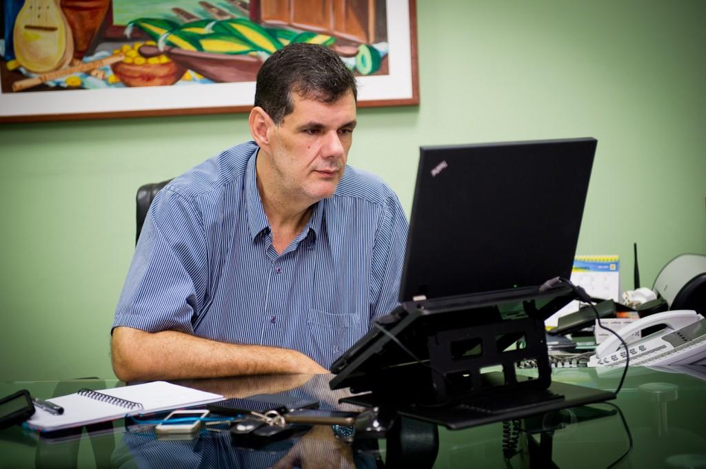 Marcos Lemos, jornalista e ex-titular da Secom, em Mato Grosso