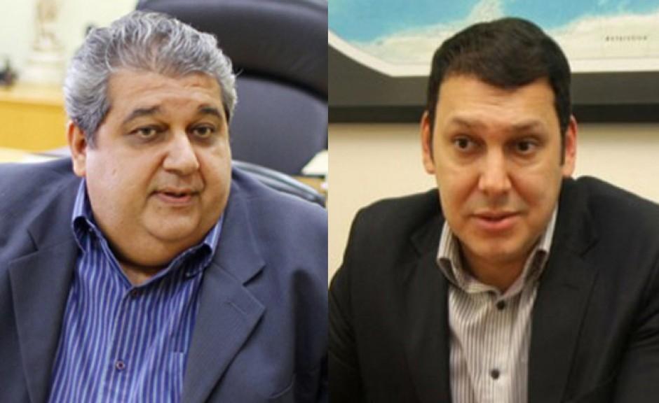 Paulo Prado e Marcos Regenold, do Ministério Público Estadual de Mato Grosso