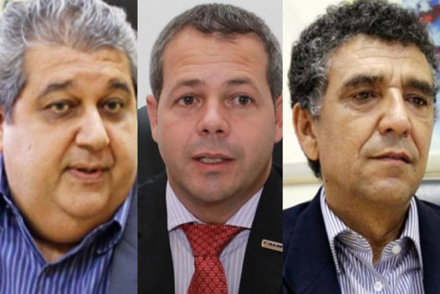 Paulo Prado, Vinicius Gahiva e Edmilson Pereira: captei, ó incomensurável guru!