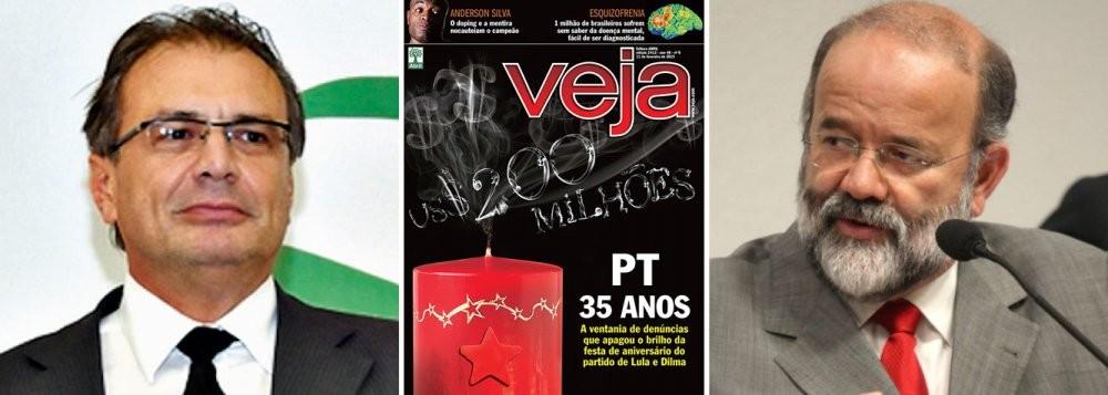 Pedro Barusco e João Vaccari. A queimação contra o PT, claro, resultou em mais um panfleto da Editora Abril