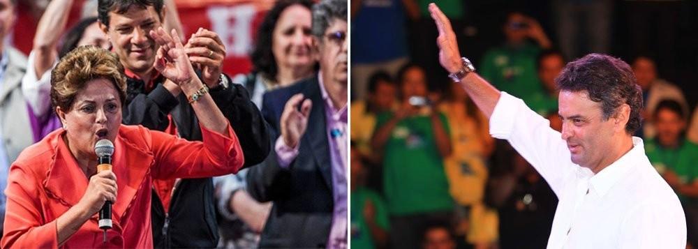 No fundo, no fundo, é a disputa entre as duas correntes que se confrontaram nas eleições, que se renova nas ruas, nestes dias de março