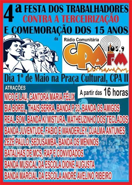 CPA FM 1 DE MAIO
