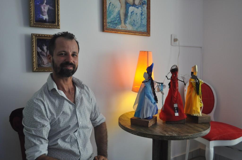 Júlio Tavares, no Gran Bazar Pac