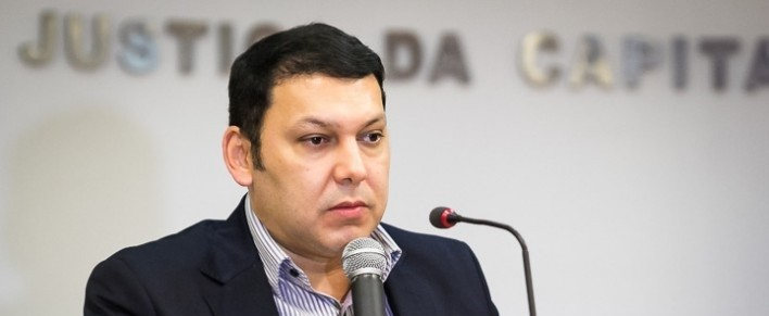 Marcos Regenold, promotor de Justiça em Mato Grosso