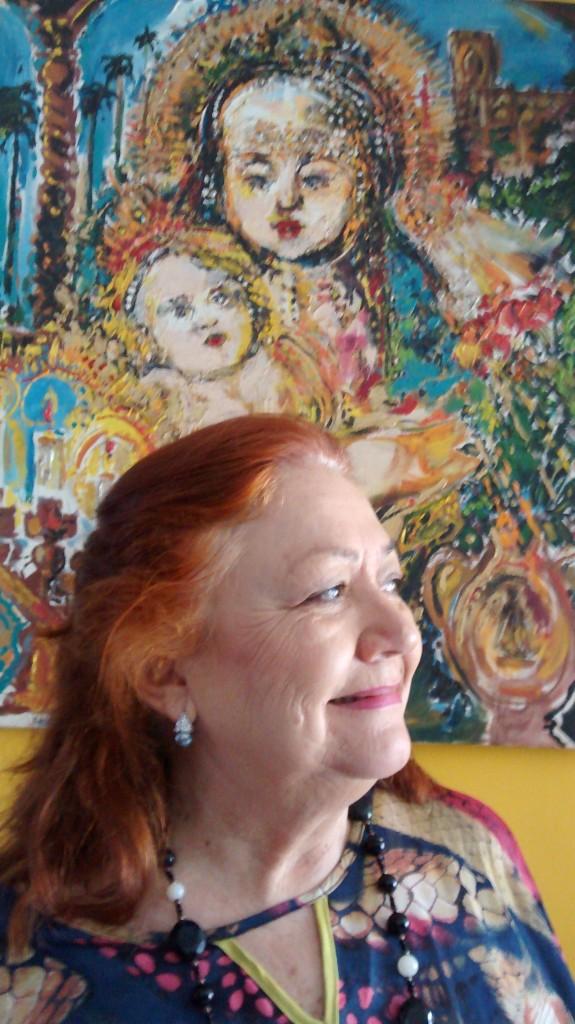 Lúcia Palma, atriz cuiabana