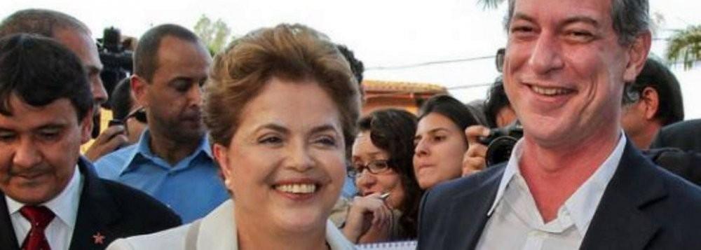 Ciro, que apoiou Dilma, pode vir a enfrentar Lula em 2018? Façam suas apostas