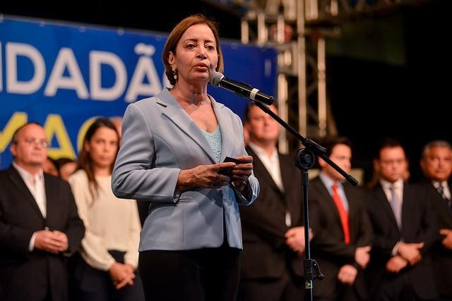 A desembargadora Clarice Claudino representou o Poder Judiciário na solenidade