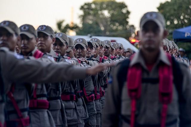 Foram apresentados 147 novos alunos soldados do Corpo de Bombeiros