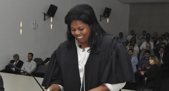 Renata do Carmo, juíza