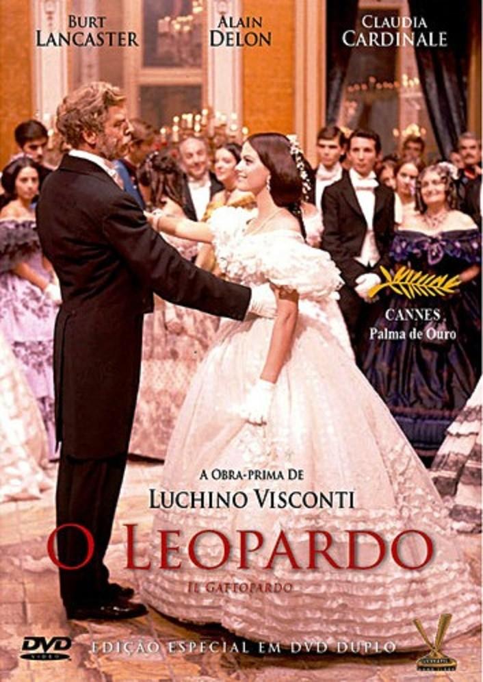 """Adaptação de """"O Leopardo"""" para o cinema, dirigida por Luchino Visconti, ganhou a Palma de Ouro, no Festival de Cannes"""