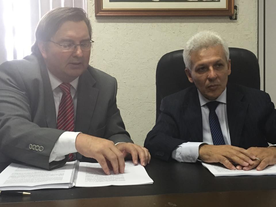 José Blaszak e José Patrocínio, advogados