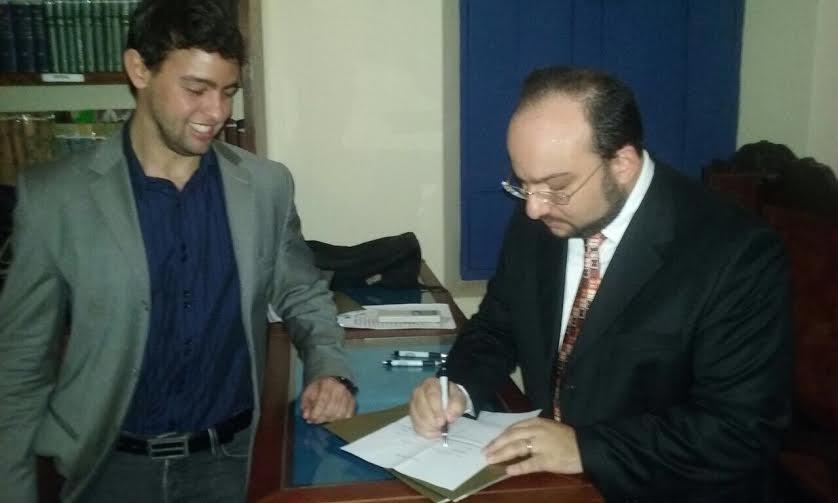 Eduardo Mahon também aderiu à campanha que está sendo puxada por Ulysses Moraes