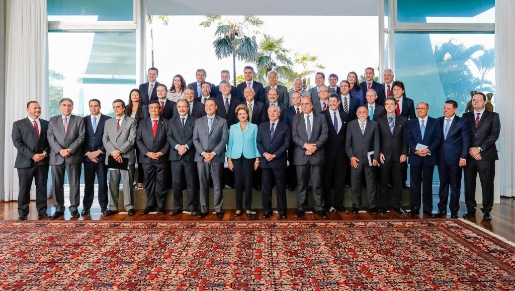 foto oficial presidenta dilma com os governadores