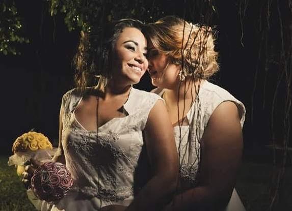 O casamento, realizado em uma sede campestre, com decoração primorosa, teve juiz de paz e toda pompa que cerca este tipo de cerimônia
