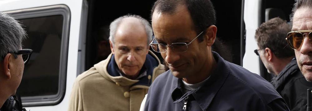 Otávio Azevedo, da Andrade Gutierrez, e Marcelo Odebrecht se encontram presos no Paraná