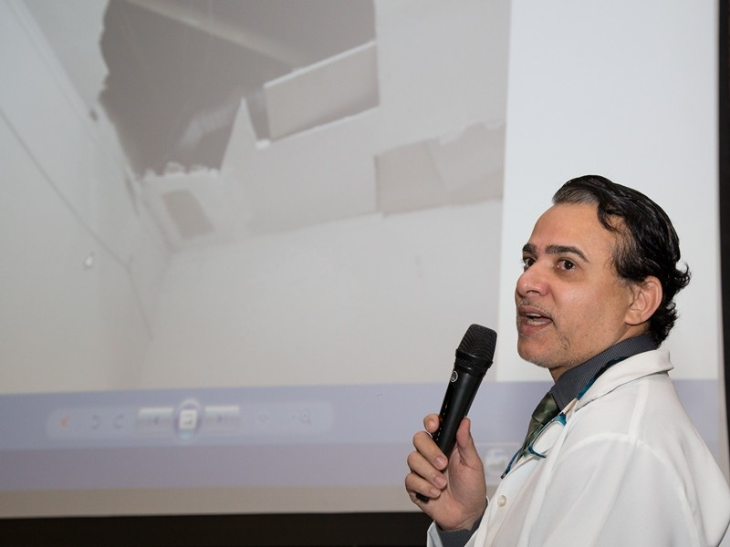 Presidente do CRM, Gabriel Felsky