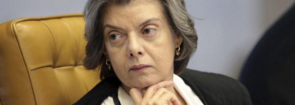 MINISTRA CARMEN LUCIA DO STF NA PAGINA DO E