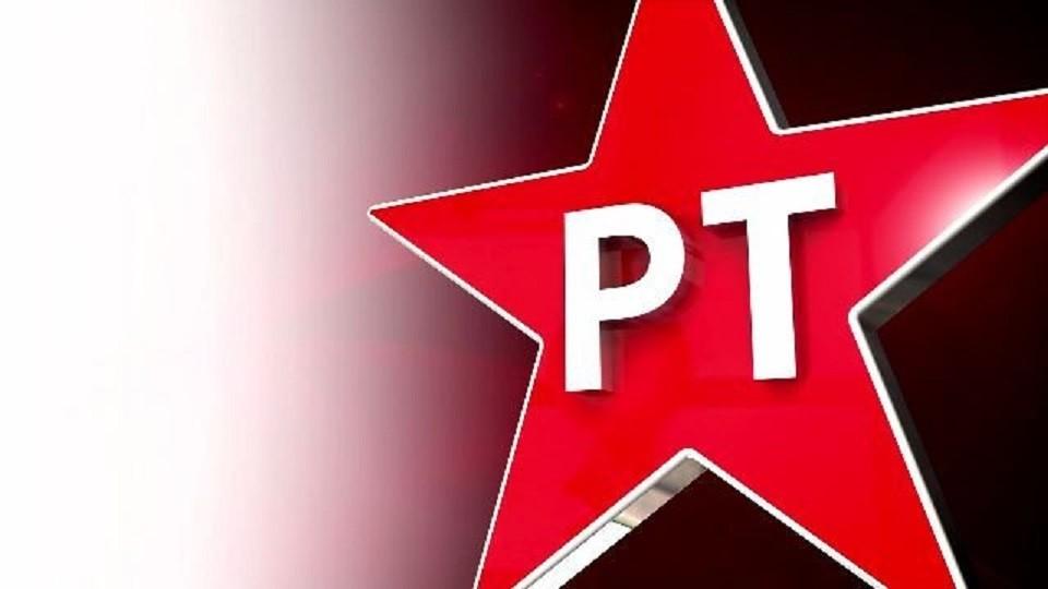A estrela, um dos principais símbolos do PT