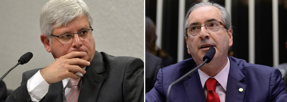 Rodrigo Janot e Eduardo Cunha