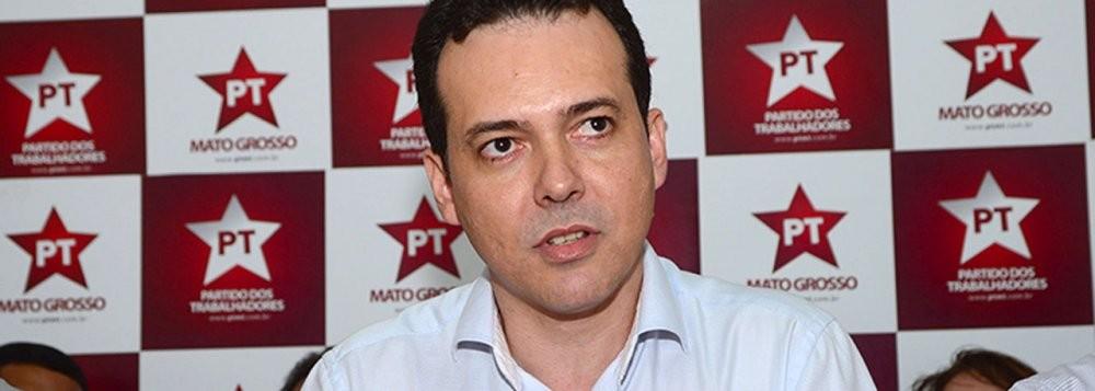 Lúdio Cabral, liderança petista em Mato Grosso