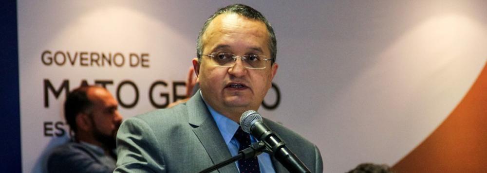 Zé Pedro Taques, professor universitário, governador de Mato Grosso