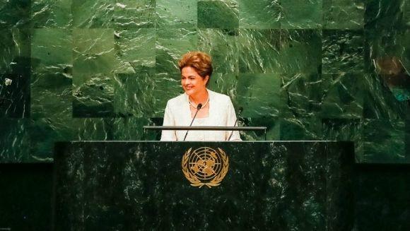 Dilma discursa na ONU, em 28 de setembro de 2015