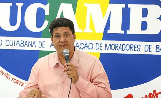 Édio Martins, presidente da Ucamb