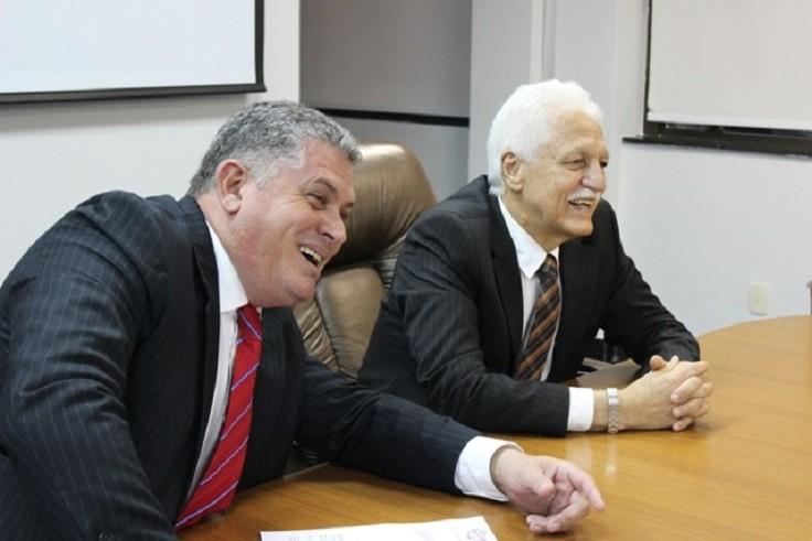 Rosenwal Rodrigues com o desembargador Paulo Cunha