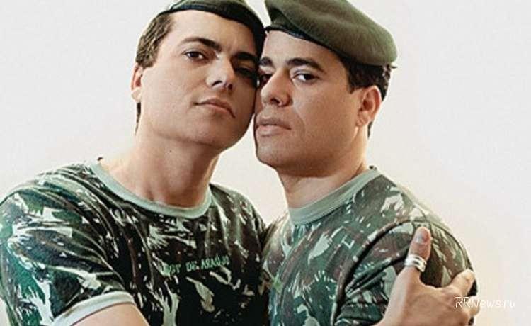 militares gays na pagina do enock