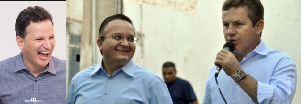 Ramon Monteagudo, Zé Pedro Taques e Mauro Mendes