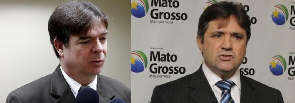 Célio Fúrio, promotor de Justiça e César Zílio, advogado e ex-secretário de Administração