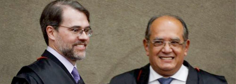 "Dias Toffoli e Gilmar Mendes, ministros do STF citados como ""conversáveis"" por Delcídio Amaral"