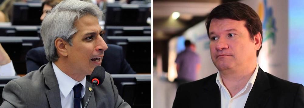 Alessandro Molon, líder da Rede Solidariedade, na Camara Federal, e o professor Ricardo Lodi. O diretor da Faculdade de Direito da Universidade do Rio de Janeiro garante não haver razões jurídicas para a admissibilidade de processo para a apuração de crime de responsabilidade da presidenta Dilma