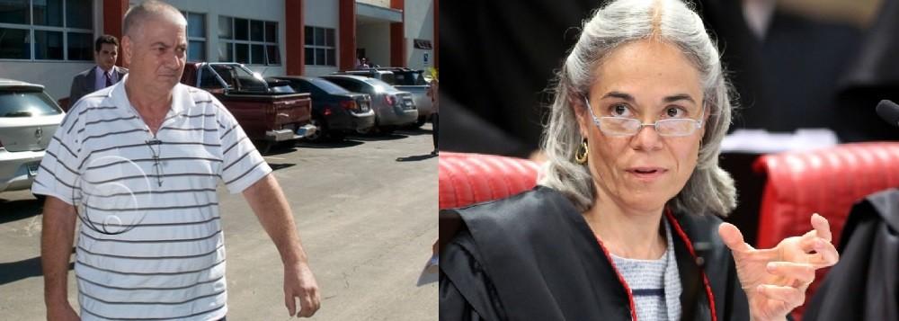 João Vicente Picorelli - ex-presidente do Sindicato dos Agentes de Administração Fazendária (Saaff) e a ministra Maria Thereza de Assis Moura, do Superior Tribunal de Justiça