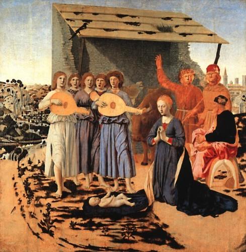 Natividade, de Piero Della Francesca