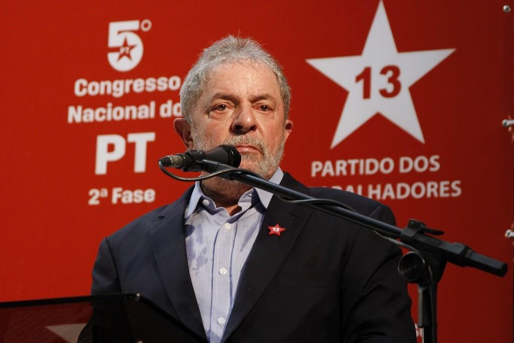 Lula lider maior do pt na pagina do enock