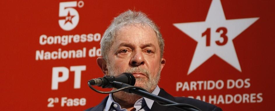 Lula lider maior do pt na pagina do enock2